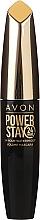 Düfte, Parfümerie und Kosmetik Wasserfeste langanhaltende Mascara für voluminöse Wimpern - Avon Power Stay 24H