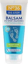 Düfte, Parfümerie und Kosmetik Intensiv feuchtigkeitsspendender Fußbalsam - Pharma CF No.36 Foot Balsam