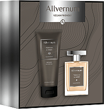Düfte, Parfümerie und Kosmetik Duftset - Allvernum Tobacco & Amber (Eau de Parfum 100ml + Duschgel 200ml)