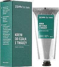 Düfte, Parfümerie und Kosmetik Gesichts- und Körpercreme - Zew For Men Face And Body Cream