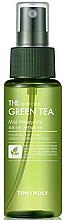Düfte, Parfümerie und Kosmetik Spray-Nebel für das Gesicht mit Grüntee-Extrakt - Tony Moly The Chok Chok Green Tea Mild Watery Mist