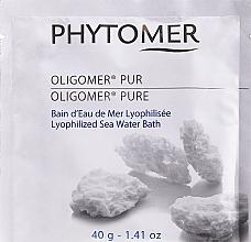 Düfte, Parfümerie und Kosmetik Badepulver mit lyophilisiertem Meerwasser - Phytomer Oligomer Lyophilized Seawater Bath