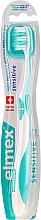 Düfte, Parfümerie und Kosmetik Zahnbürste extra weich Swiss Made türkis - Elmex Sensitive Toothbrush Extra Soft