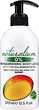 Düfte, Parfümerie und Kosmetik Nährende Körperlotion Mango - Naturalium Body Lotion Mango