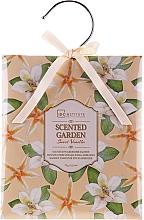 Düfte, Parfümerie und Kosmetik Parfümiertes Duftsäckchen mit süßem Vanilleduft - IDC Institute Sweet Vanilla Scented Garden Wardrobe Sachet