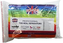 Düfte, Parfümerie und Kosmetik Separator für die Pediküre 500 St. - Ronney Professional Toe-Roll Sparators