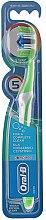 Düfte, Parfümerie und Kosmetik Zahnbürste mittel Complete 5 Way Clean grün-weiß - Oral-B Complete 5 Ways Clean 40 Medium