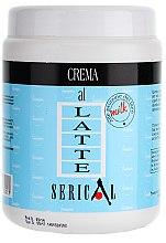 Düfte, Parfümerie und Kosmetik Creme-Haarmaske mit Milchprotein - Pettenon Serical