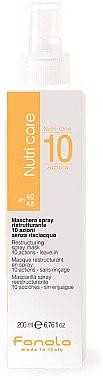 Restrukturierungsmaske-Spray für trockenes Haar - Fanola Nutri Care Restructuring Spray Mask