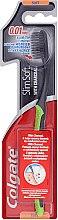 Düfte, Parfümerie und Kosmetik Zahnbürste mit Aktivkohle weich Slim Soft grün-schwarz - Colgate Toothbrush