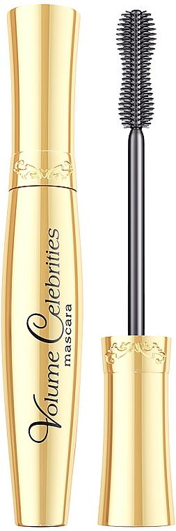 Volumen-Wimperntusche - Eveline Cosmetics Volume Celebrity Mascara