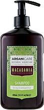 Düfte, Parfümerie und Kosmetik Revitalisierendes Shampoo mit Arganöl und Macadamia - Arganicare Macadamia Shampoo