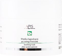 Düfte, Parfümerie und Kosmetik Beruhigende Gesichtsmaske nach Säurebehandlung - APIS Professional Exfoliation Soothing Mask After Acid Treatment