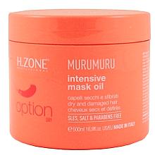 Düfte, Parfümerie und Kosmetik Nährende Haarmaske auf Ölbasis - H.Zone Option Murumuru Intensivr Mask Oil