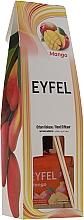 """Düfte, Parfümerie und Kosmetik Raumdiffusor mit Duftholzstäbchen """"Mango"""" - Eyfel Perfume Reed Diffuser Mango"""