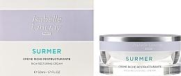 Düfte, Parfümerie und Kosmetik Reichhaltige reparierende Anti-Falten Gesichtscreme für sehr trockene Haut - Isabelle Lancray Surmer Rich Restoring Cream