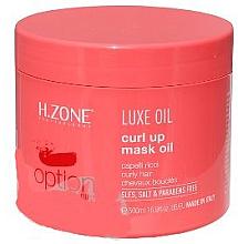 Düfte, Parfümerie und Kosmetik Haaröl zum Farbschutz - H.Zone Luxe Oil Curl Up Mask Oil