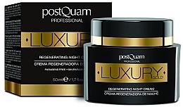 Düfte, Parfümerie und Kosmetik Regenerierende Nachtcreme - Postquam Luxury Gold Regenerating Night Cream