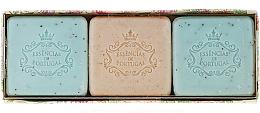 Düfte, Parfümerie und Kosmetik Naturseifen Geschenkset 3 St. - Essencias De Portugal Aromas Collection Summer Set (Seifen 3x80g)