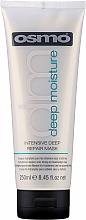 Düfte, Parfümerie und Kosmetik Tief regenerierende und feuchtigkeitsspendende Maske für trockenes und strapaziertes Haar - Osmo Deep Moisturising Intensive Deep Repair Mask