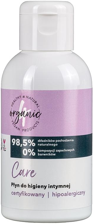 Pflegendes hypoallergenes Gel für die Intimhygiene - 4Organic Care Intimate Gel
