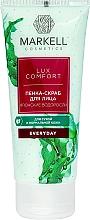 Düfte, Parfümerie und Kosmetik Gesichtspeeling-Schaum mit japanischen Algen - Markell Cosmetics Lux-Comfort