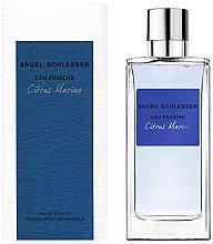 Düfte, Parfümerie und Kosmetik Angel Schlesser Eau Fraiche Citrus Marino - Eau de Toilette