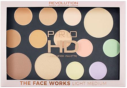 Make-up Palette - Makeup Revolution Pro HD The Works Palette