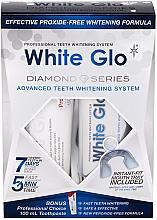 Düfte, Parfümerie und Kosmetik Aufhellendes Zahnpflegeset - White Glo Diamond Series Set (Zahnpasta 100ml + Zahngel 50ml)