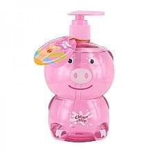 Düfte, Parfümerie und Kosmetik Bade- und Duschgel für Kinder mit Erdbeerduft Schweinchen - Chlapu Chlap Bath & Shower Gel