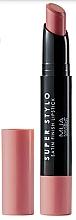 Düfte, Parfümerie und Kosmetik Satin-Lippenstift - MUA Academy Super Stylo Satin Finish Lipstick