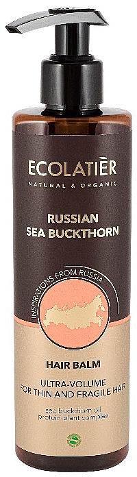 Haarspülung mit russischem Sanddorn - Ecolatier Russian Sea Buckthorn Hair Balm