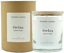 Düfte, Parfümerie und Kosmetik Duftkerze im Glas White Musk - Ambientair The Olphactory Relax White Musk