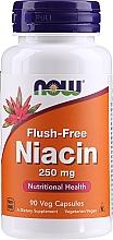 Düfte, Parfümerie und Kosmetik Nahrungsergänzungsmittel Niacin (Vitamin B3) 250 mg - Now Foods Flush-Free Niacin
