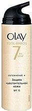Düfte, Parfümerie und Kosmetik Feuchtigkeitsspendende Tagescreme SPF 15 - Olay Total Effects Day Cream Sensitive SPF15