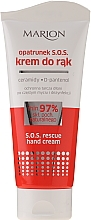 Düfte, Parfümerie und Kosmetik Rettungscreme für die Hände mit Ceramiden und D-Panthenol - Marion S.O.S Rescue Hand Cream