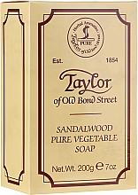 Düfte, Parfümerie und Kosmetik Seife Sandelholz - Taylor of Old Bond Street Sandalwood Soap