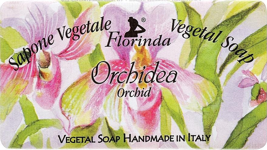 Naturseife Orchideen - Florinda Sapone Vegetale Vegetal Soap Orchid