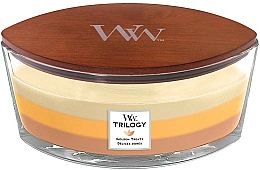Düfte, Parfümerie und Kosmetik Duftkerze im Glas Golden Treats - WoodWick Golden Treats Ellipse Candle