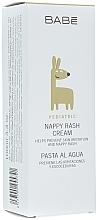 Düfte, Parfümerie und Kosmetik Feuchtigkeitsspendende und schützende Windelcreme - Babe Laboratorios Nappy Rash Cream