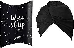 Düfte, Parfümerie und Kosmetik Kosmetischer Haarturban schwarz - Anwen Wrap It Up Turban