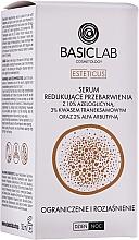Düfte, Parfümerie und Kosmetik Anti-Verfärbungs-Gesichtsserum mit 10% Azeloglycin und 3% Tranexamsäure - BasicLab Esteticus Anti-Discoloration Face Serum