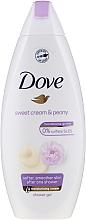 Düfte, Parfümerie und Kosmetik Duschcreme-Gel mit Vanille und Pfingstrose - Dove Purely Pampering Creamy Vanilla And Peony
