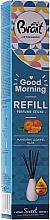 Düfte, Parfümerie und Kosmetik Raumerfrischer Mandarine, Moschus und Jasmin - Brait Home Sweet Home Refreshing Sticks Good Morning (Refill)