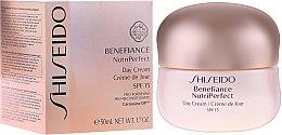 Düfte, Parfümerie und Kosmetik Schützende Tagescreme für Gesicht - Shiseido Benefiance NutriPerfect Day Cream SPF 15
