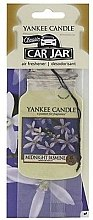 Düfte, Parfümerie und Kosmetik Papier-Lufterfrischer Midnight Jasmine - Yankee Candle Midnight Jasmine Car Jar