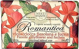 Düfte, Parfümerie und Kosmetik Naturseife Fiesole Gillyflower & Fuchsia - Nesti Dante Romantica Soap