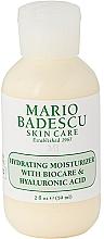 Düfte, Parfümerie und Kosmetik Feuchtigkeitsspendende Gesichtscreme mit Hyaluronsäure - Mario Badescu Hydrating Moisturizer With Biocare & Hyaluronic Acid