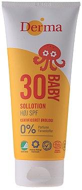 Sonnenschutzcreme für Kinder SPF 30 - Derma Sun Baby Sollotion SPF30