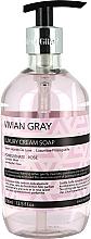 Düfte, Parfümerie und Kosmetik Sanfte flüssige Handseife mit Granatapfel- und Rosenduft - Vivian Gray Luxury Cream Soap Pomegranate & Rose
